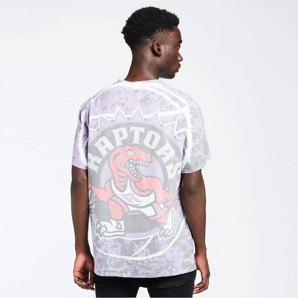 Mitchell & Ness Jumbotron Sublimated Toronto Raptors Men's Tee