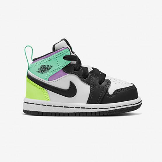 Jordan 1 Mid Toddlers' Shoes