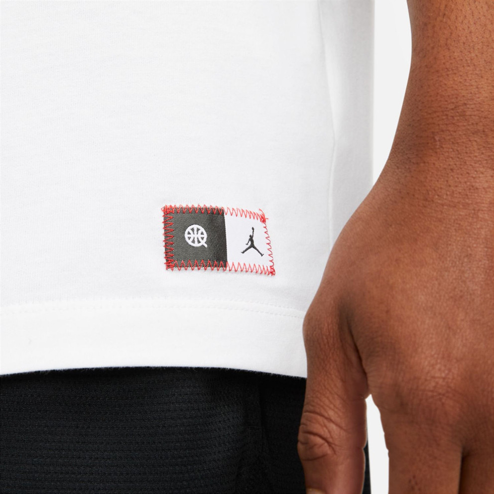 Jordan Q54 M J Logo Ss Tee