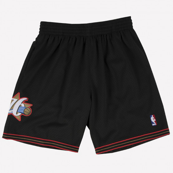 Mitchell & Ness Swingman Road Shorts Philadelphia 76ers