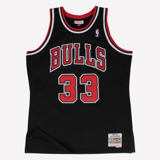 Mitchell & Ness Swingman Jersey-Chicago Bulls - Sc