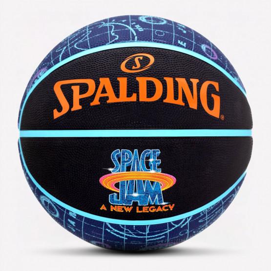 Spalding Space Jam Premium Rubber Cover Μπάλα Μπάσκετ Μέγεθος 7