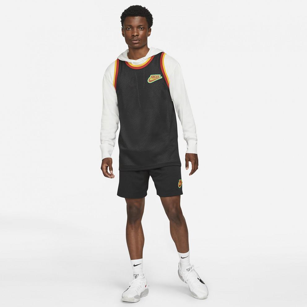 """Nike Giannis Antetokounmpo """"Freak"""" Ανδρική Αμάνικη Μπλούζα"""