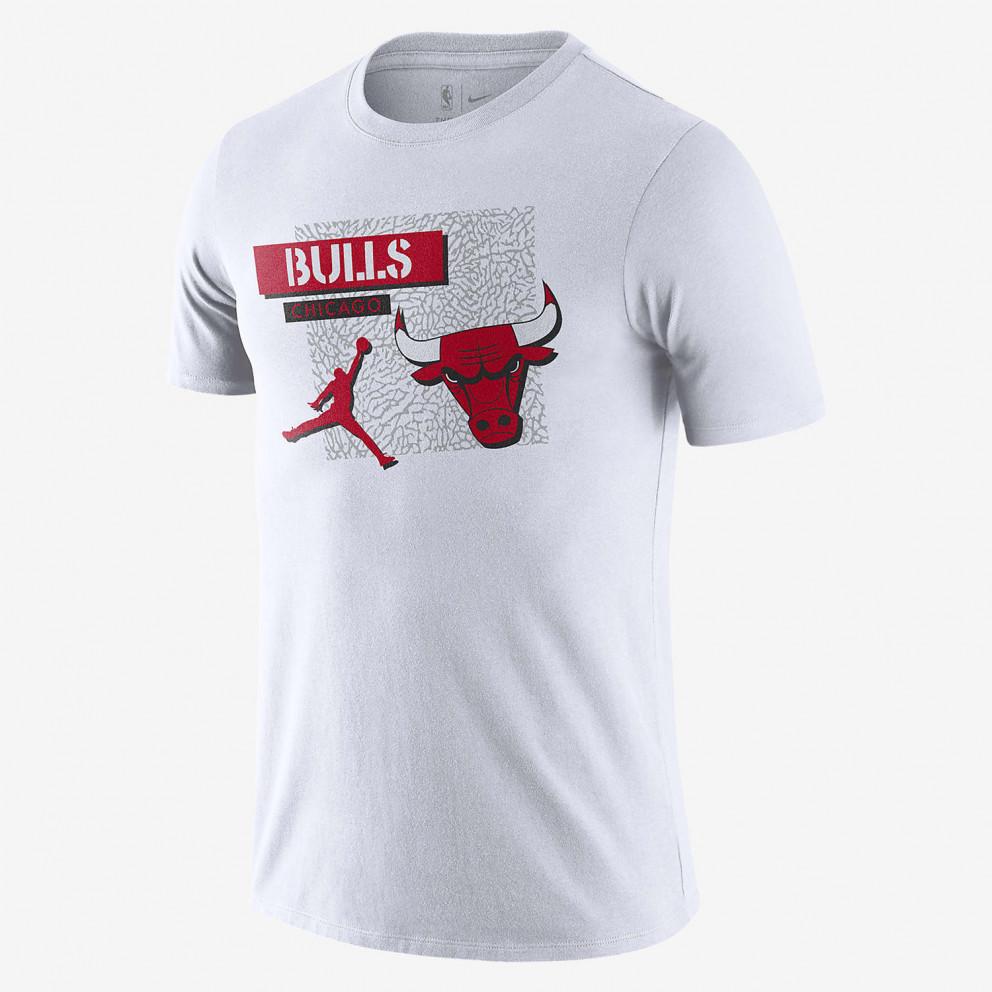 Nike Chicago Bulls Jordan Dri-FIT Ανδρικό T-Shirt
