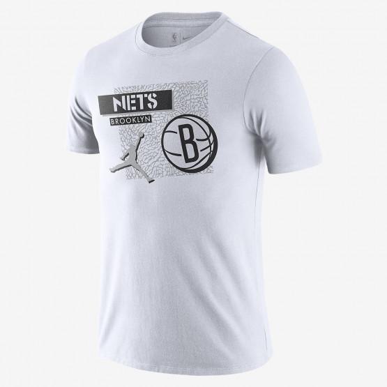 Nike Brooklyn Nets Jordan Dri-FIT Men's Τ-Shirt