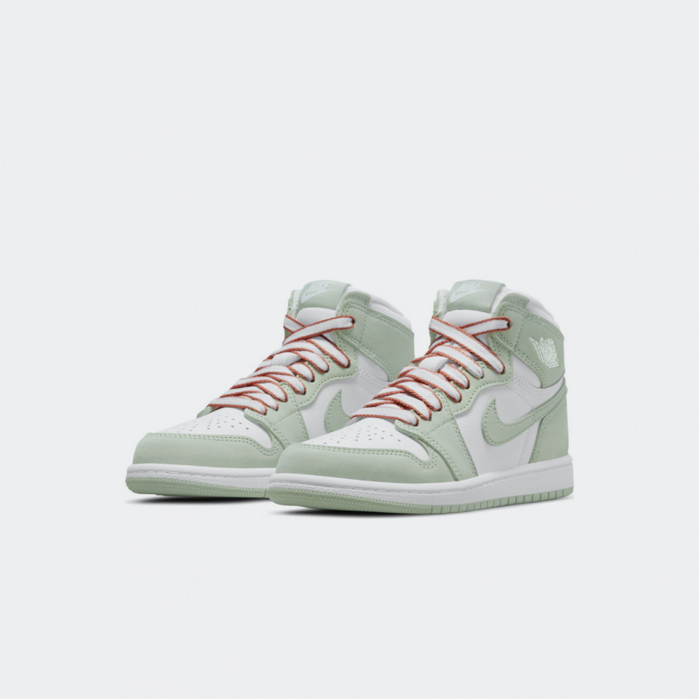 Jordan Air 1 Retro Mid Kids' Basketball Shoes