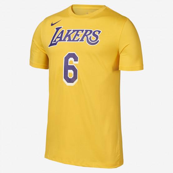 Nike NBA LeBron James Los Angeles Lakers Ανδρικό T-Shirt