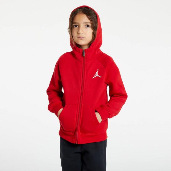 Jordan Jumpman Fleece Full Zip Παιδική Ζακέτα