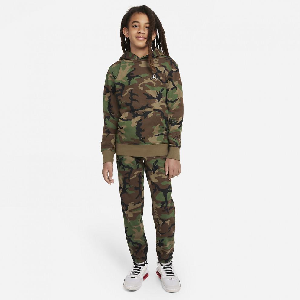 Jordan Essentials Camo Παιδική Μπλούζα με Κουκούλα