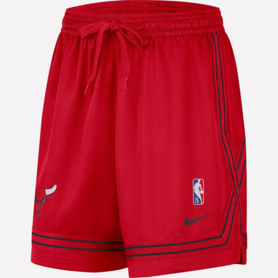 Nike NBA Chicago Bulls Courtside Γυναικείο Σορτς για Μπάσκετ