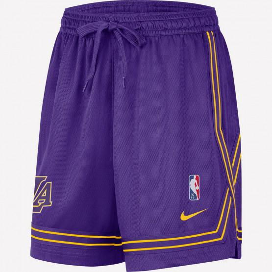 Nike LA Lakers Courtside Γυναικείο Σορτς για Μπάσκετ