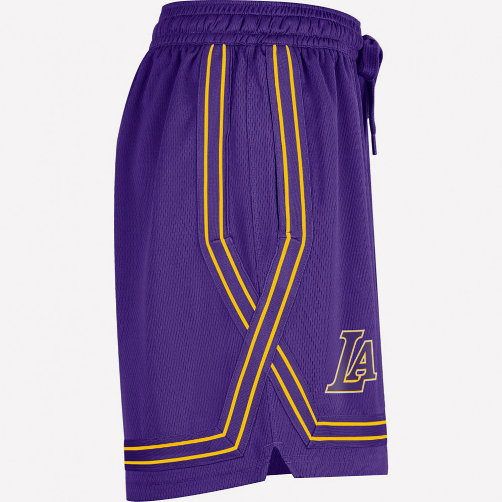 Nike LA Lakers Courtside Women's Shorts for Baksetball