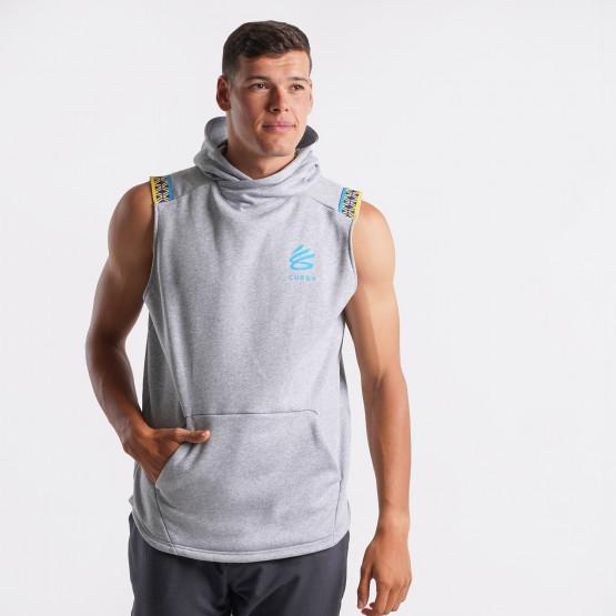 Under Armour Curry Ανδρική Αμάνικη Μπλούζα με Κουκούλα