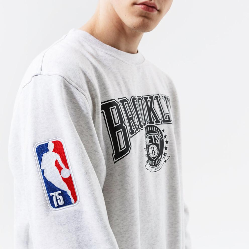 Nike NBA Fleece Crew Brooklyn Nets Courtside Men's Sweatshirt