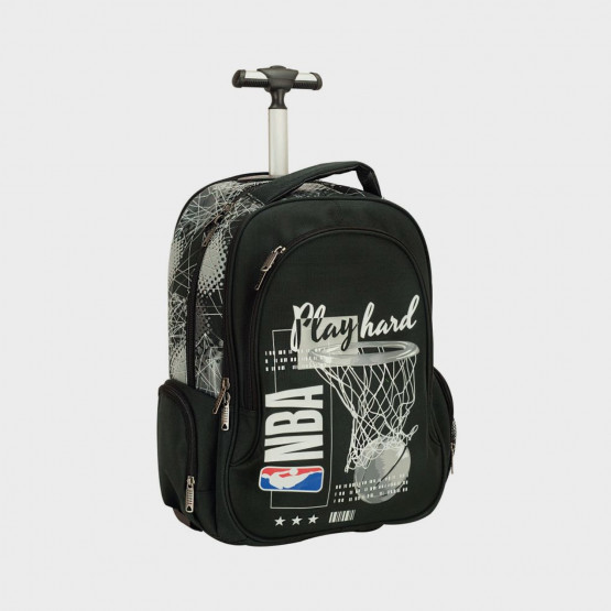 Back Me Up NBA Play Hard Τρόλεϊ Σχολική Τσάντα 30L