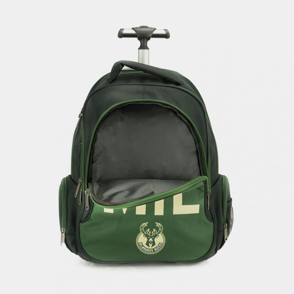Back Me Up NBA Milwaukee Bucks Trolley Backpack 30L