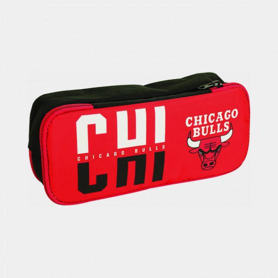 NBA Chicago Bulls Barrel Pencil Case