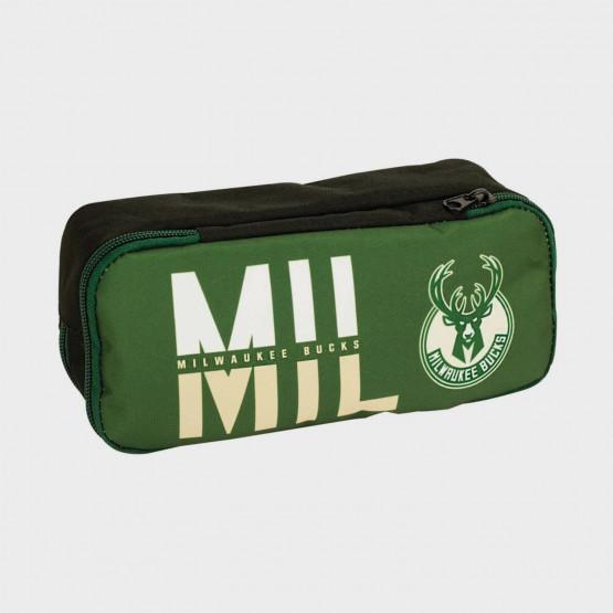 NBA  Milwaukee Bucks  Barrel Pencil Case