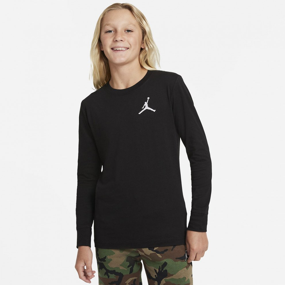 Jordan Jumpman Air Παιδική  Μπλούζα με Μακρύ Μανίκι