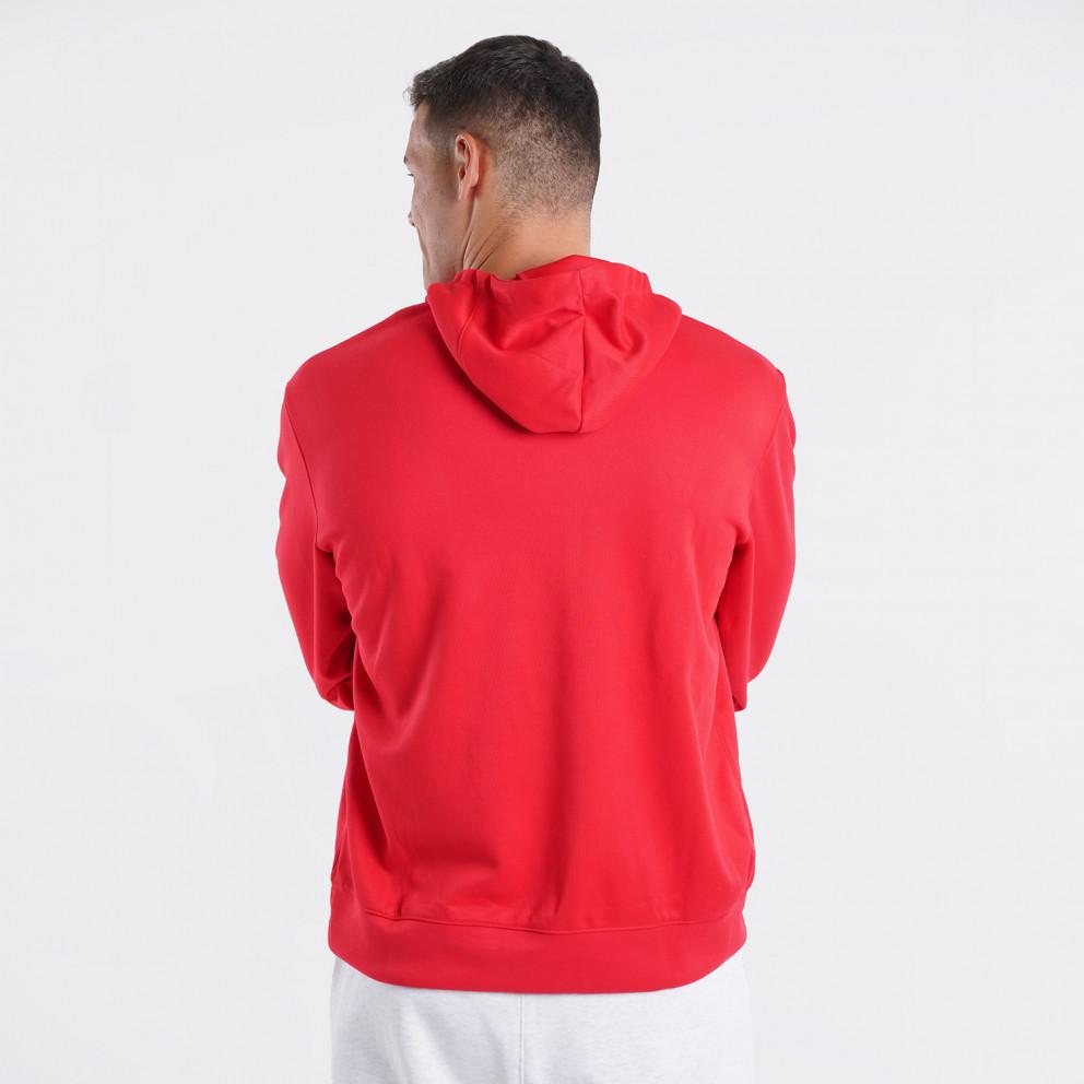 Nike NBA Chicago Bulls Dri- Fit Spotlight Ανδρική Μπλούζα Με Κουκούλα