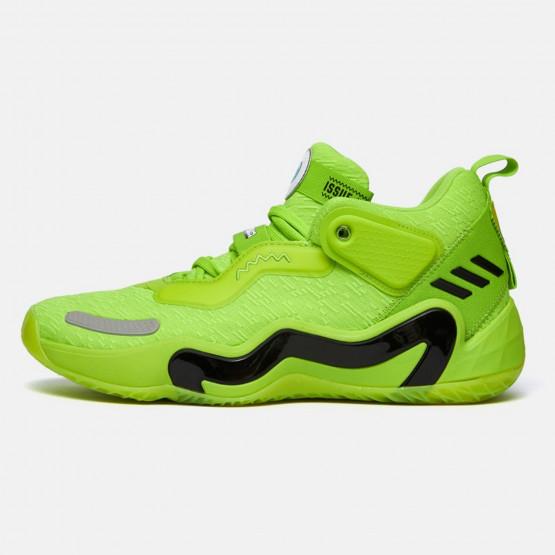 "adidas Performance D.O.N. 3 ""Mike Wazowski"" Ανδρικά Μπασκετικά Παπούτσια"