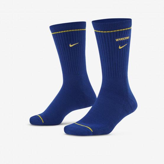 Nike Golden State Warriors Courtside NBA Crew Unisex Socks