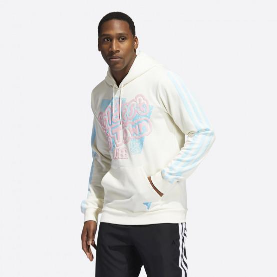 adidas Performance Trae Young x Icee Ανδρική Μπλούζα με Κουκούλα