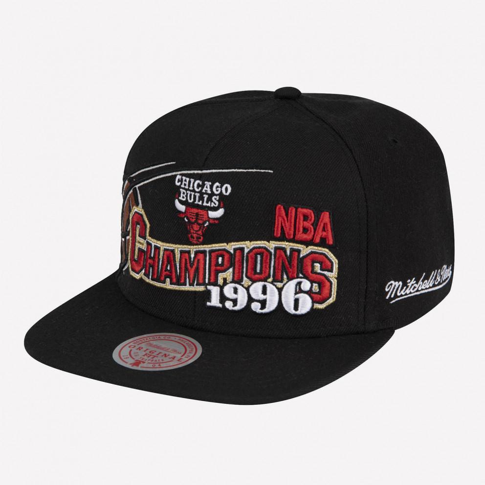 Mitchell & Ness Chicago Bulls 96 Champions Wave Snapback Men's Hat
