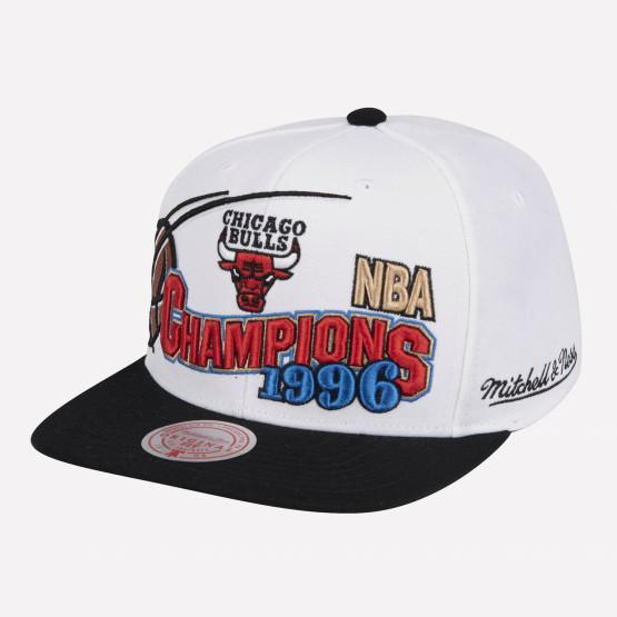 Mitchell & Ness Chicago Bulls 96 Champions Wave Snapback Ανδρικό Καπέλο