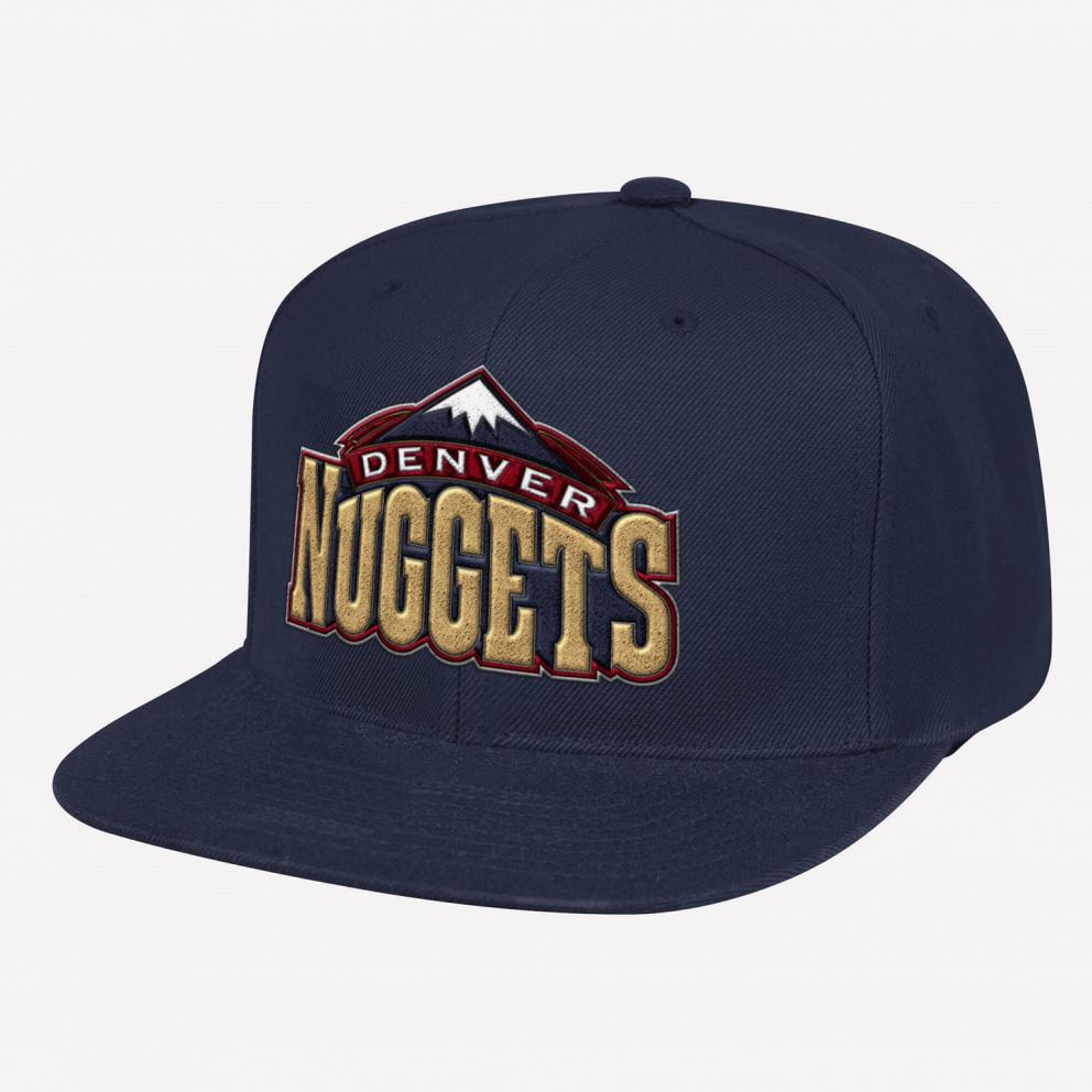 Mitchell & Ness Team Ground Snapback HWC Denver Nuggets Men's Hat