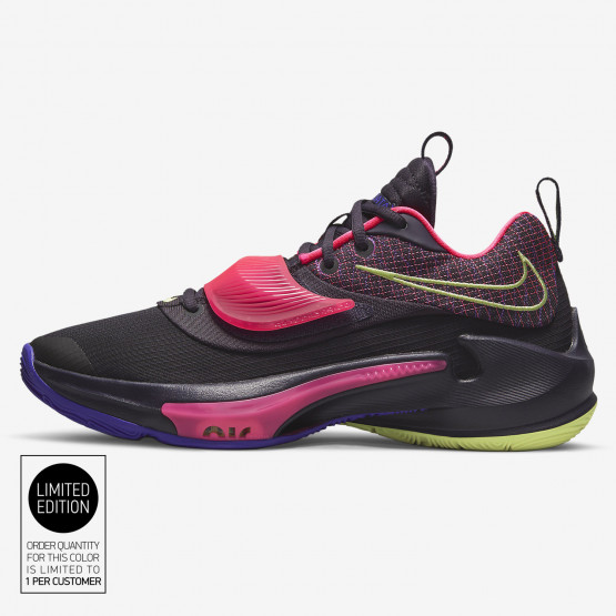 Nike Zoom Freak 3 Ανδρικά Παπούτσια για Μπάσκετ