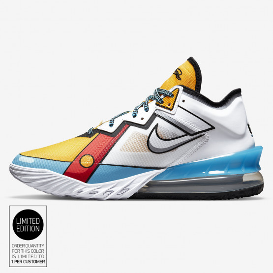 """Nike Lebron 18 Low """"Stewie Griffin"""" Men's Basketball Shoes"""