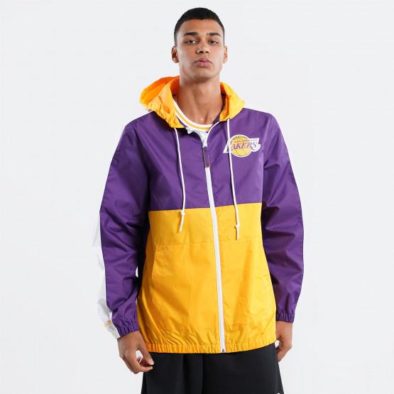 Mitchell & Ness Gameday LA Lakers Ανδρικό Αντιανεμικό Μπουφάν