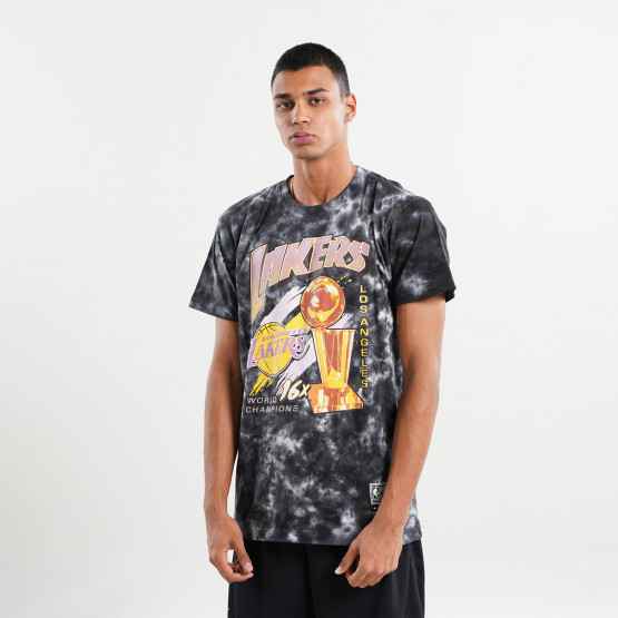 Mitchell & Ness Champions Los Angeles Lakers Tie Dye Men's T-shirt