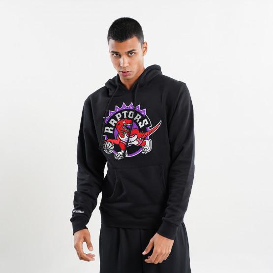 Mitchell & Ness Chenille Logo Toronto Raptor Ανδρική Μπλούζα με Κουκούλα