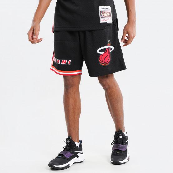 Mitchell & Ness Nba Swingman Miami Heat 1996-99 Ανδρικό Σορτς για Μπάσκετ