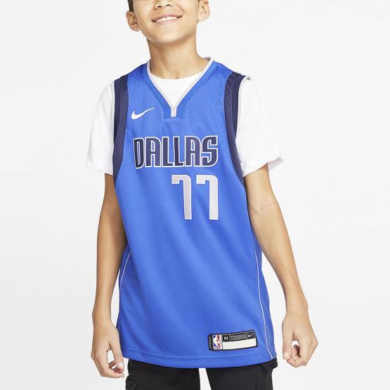 Nike NBA Swingman Mavericks Icon Edition Luka Doncic Kids' Basketball Jersey