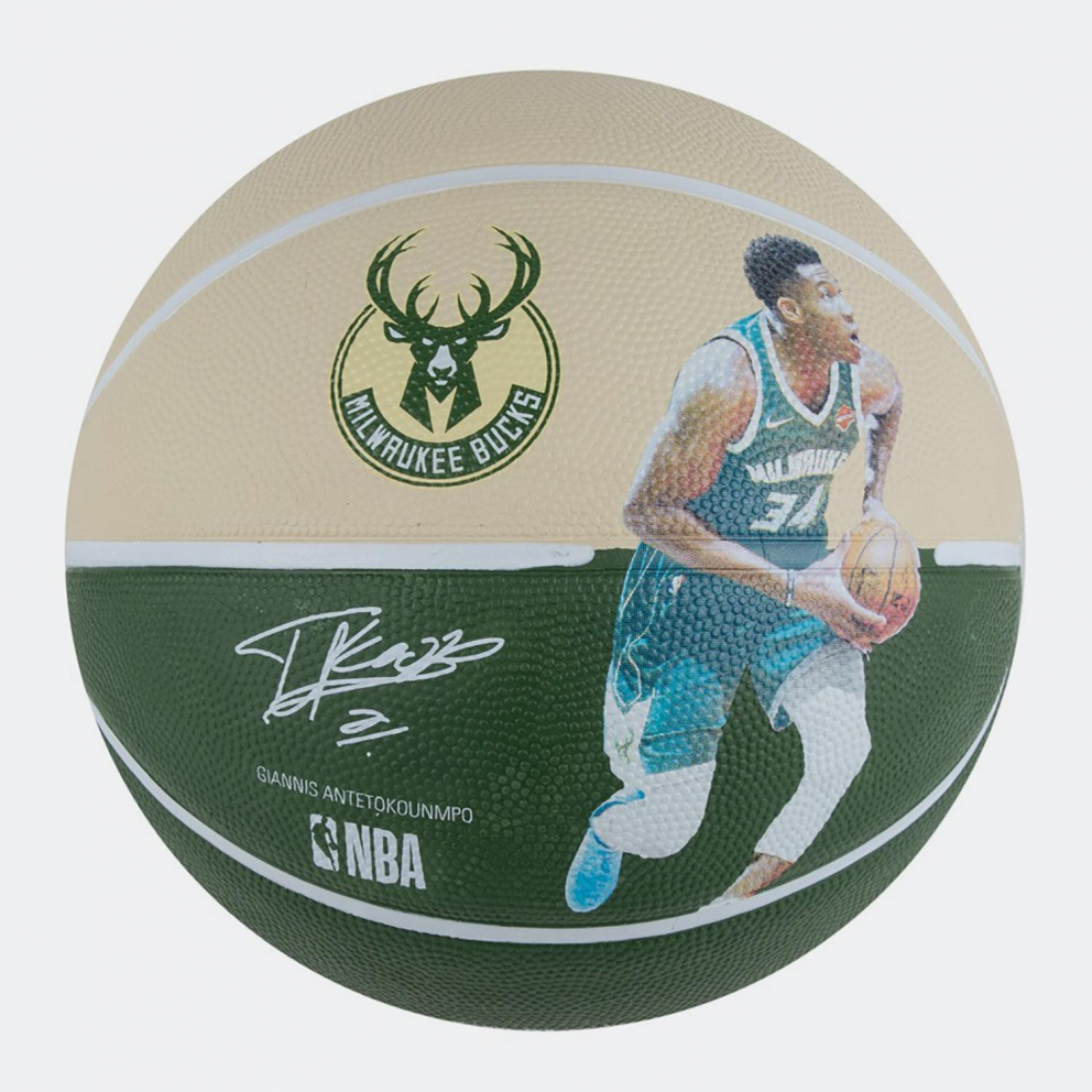 Spalding New Nba Player Bucks Giannis Antetokounmpo No7
