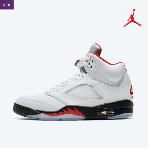 Air Jordan Retro 5 'Fire Red'