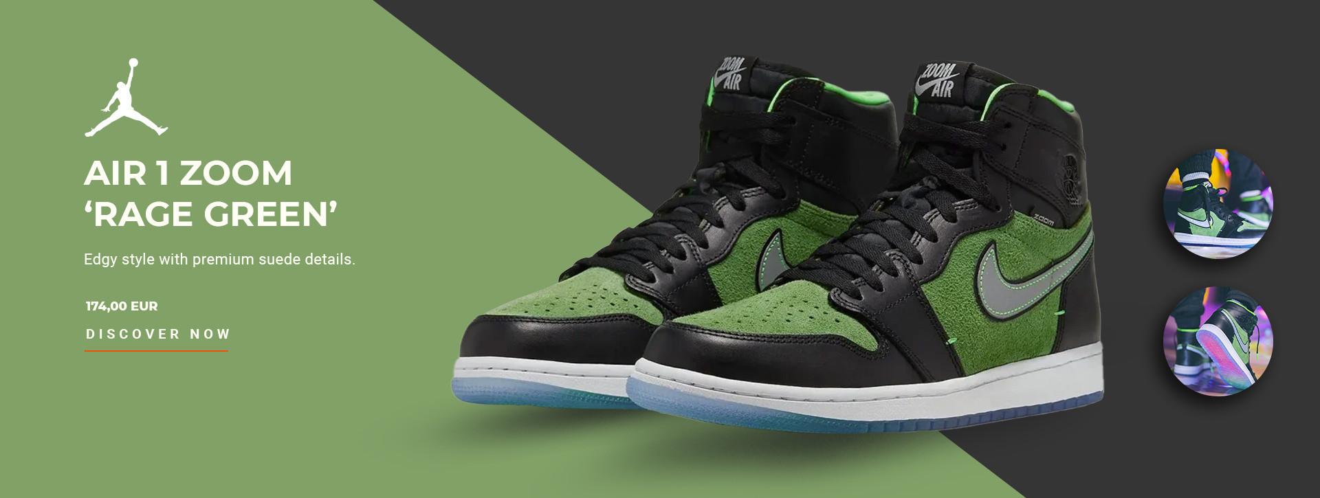 Jordan Rage Green