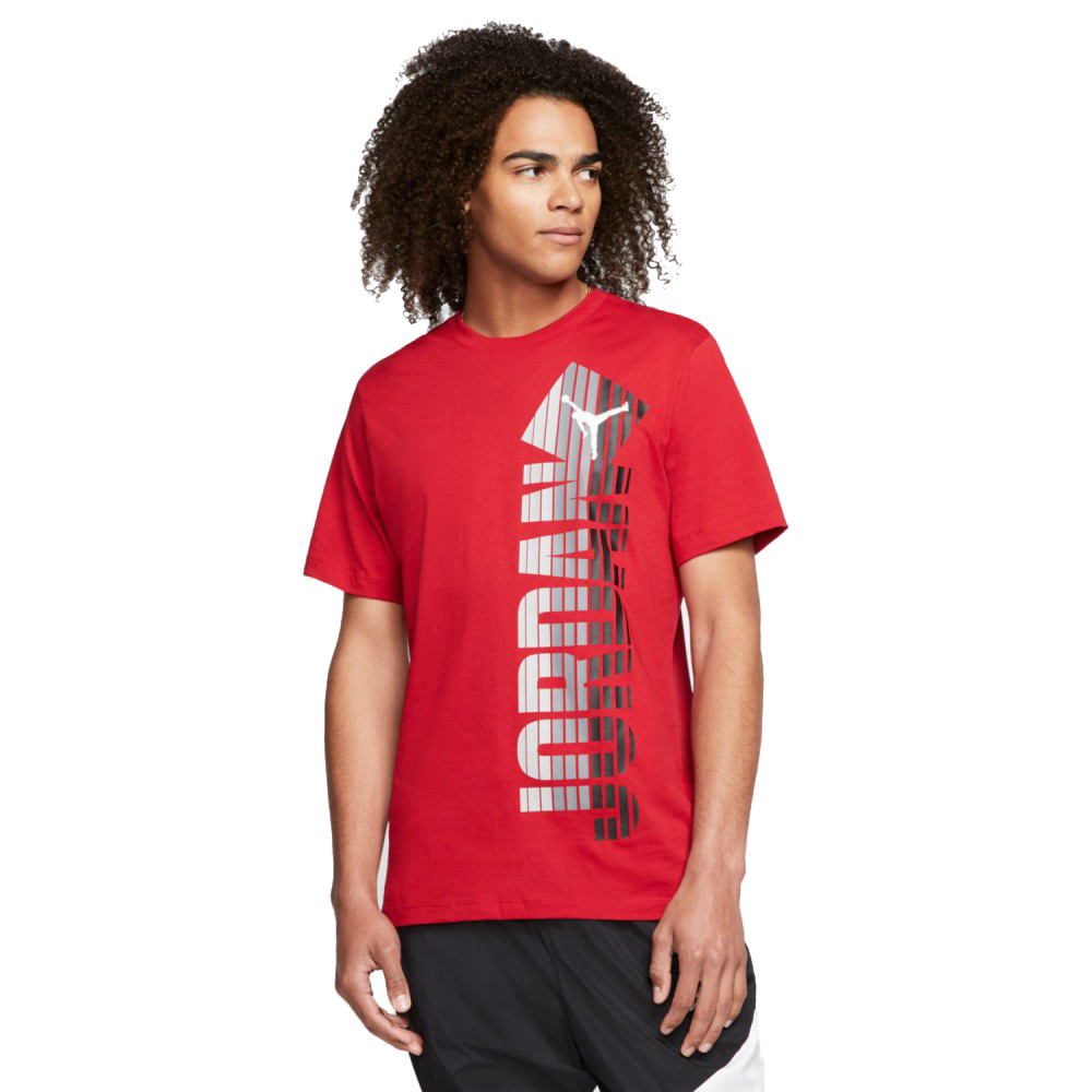 Jordan Fade Crew Men's Tee CJ6294-687 GYM RED