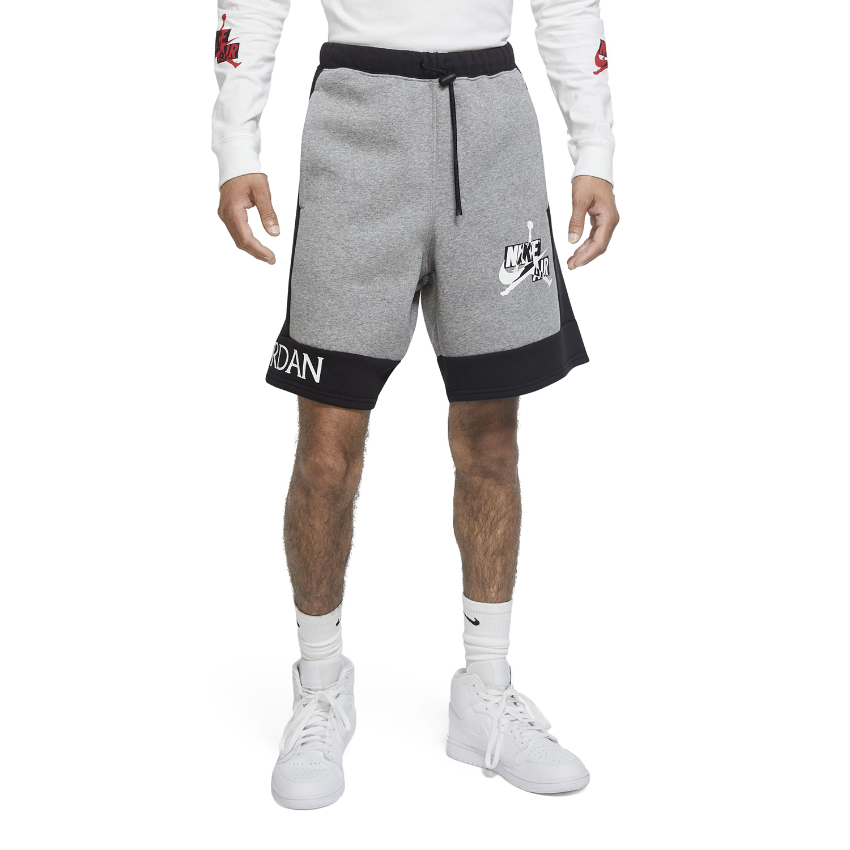 Jordan Jumpman Classics Ανδρικό Fleece Σορτσάκι CK6753-091 CARBON HEATHER/BLACK